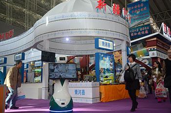 硅智机器人亮相各大展会